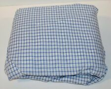 Ralph Lauren Cottage Hill Blue Tattersal Full Fitted Sheet