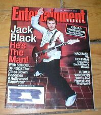 ENTERTAINMENT WEEKLY mag'03 JACK BLACK Luther Vandross Raven-Symone Ted McGinley