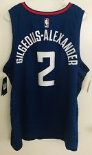 Shai Gilgeous-Alexander *ROOKIE* Official Nike Swingman Jersey XL NWT Clippers
