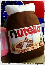 Cuscino a forma di Nutella 45 cm ( nome personalizzato su richiesta)