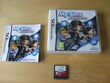 Nintendo DS Game - MYSIMS AGENTS   - 100% Genuine   *FREE UK P&P*