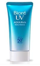 Biore Kao UV Aqua Rich Watery Essence Sunscreen Waterproof SPF 50+ PA++++ 15 g