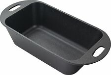 Pre Seasoned Cast Iron Loaf Pan for Baking by Utopia Kitchen