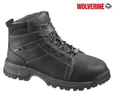 Wolverine Men's Grogan Met Guard Safety Boots - Black W10210