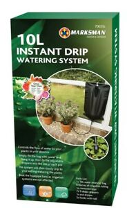 NEW INSTANT DRIP WATERING SYSTEM GARDEN OUTDOORS FEED PLANTS HANG RESISTANT