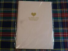 Small Purse/breifcase Lined Notebook Diary Journal 64 Page My Simple Story Heart