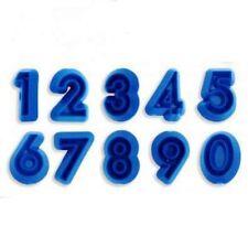 JEM Numern / Zahlen Set  0-9 °° Ausstecher  °° neu