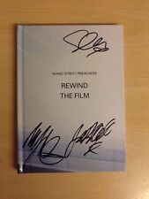 MANIC STREET PREACHERS-SIGNED-REWIND THE FILM-LTD 2CD BOOKLET SLEEVE-M/UNPLAYED