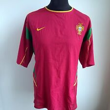 Portugal 2002 Home Football Shirt Nike Jersey Taille Adulte XL