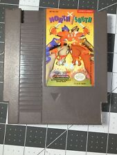 North and South 1985 Nintendo NES RAR  Game Cart (Authentic) Excellent Condition