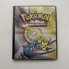 Neo Genesis Pokemon Trading Card Vintage Retro Old Folder Binder A5 WOTC