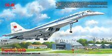 ICM 1/144 Tupolev tu-144d # 14402