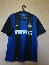 INTER Milan Internazionale 2012/2013 Calcio Casa Maglietta Jersey Maglia Nike