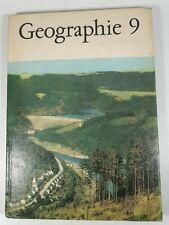 Geographie Klasse 9 DDR Lehrbuch VOLK UND WISSEN VOLKSEIGNER VERLAG 1975