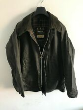 Mens Barbour Bedale wax jacket Dark Blue coat 52 in size Extra Large 2XL / 3XL