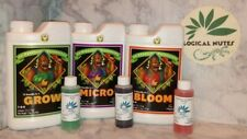 Advanced Nutrients PH Perfect GROW MICRO and BLOOM,Bundle,hydro,soil,2oz,bottles