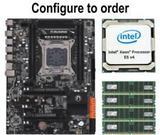 True Intel X99 LGA2011-3 ATX Motherboard + CPU + DDR4 Bundle Xeon E5-2680 V3 V4