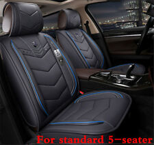 Gray 6D PU Leather Car Seat Covers Cars Seat Cushion Cover For Auto Accessories