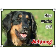 Hovawart Dogs Warning Sign - Metal Top Tip Weatherproof