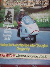 Classic Bike 09/82 Rocker's Tales, Douglas Twins Test, Matchless G15CSR, Nortons