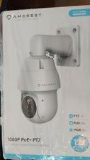 Amcrest 1080P POE Outdoor PTZ IP Camera 12x Optical Zoom Speed Dome NEW 853EW