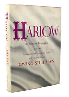 Irving Shulman JEAN HARLOW An Intimate Biography 1st Edition 4th Printing