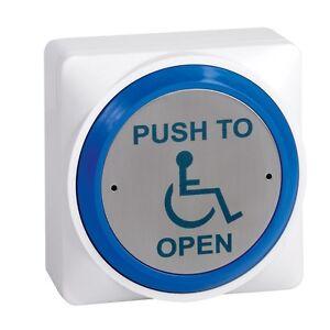 Disabled Door Push To Open Button (DDA Regulations)