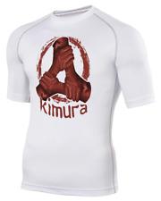 KIMURA figure 4 Armlock-Men's Base Layer Rash Guard BJJ MMA Tshirt