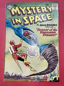 Mystery In Space.  #61.  VG   (4.0).   Aug.  1960.