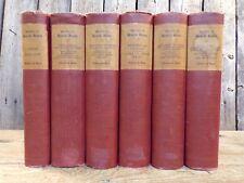 The Works of Henrik Ibsen ~ Edition de Luxe ~ Himebaugh & Browne ~ 1911 ~ 6 Vols
