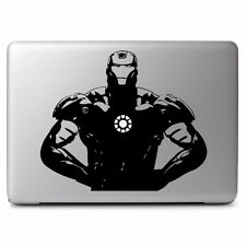 Macbook 13 inch decal sticker Iron Man Marvel art for Apple Laptop