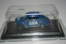 Hachette Eligor 1:43: Renault 4CV Mille Miglia 1063 - 1954, OVP