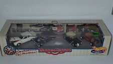 1/64 HOT WHEELS REGGIE CARS 1963 PLYMOUTH, 1956 CHEVROLET, 1940 FORD & 1932 FORD