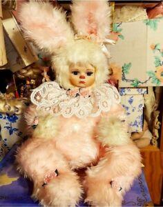 Marie Osmond doll Rock a Bye Bunny Velveteen Rabbit 20 in Jointed Vintage Easter