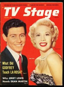 TV Stage Vol 1 #1 - Dec 1953 fn/vf 7.0 Dinah Shore Howdy Doody Jerry Lewis