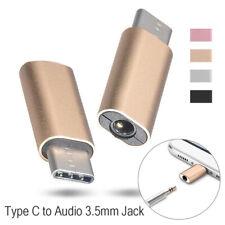 Universal USB Type-C Mobile Connector 3.5mm Headphone Adapter Metal
