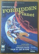 Return to the Forbidden Planet programme Harrogate Theatre 2007 Sam Bloom