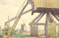 J. H. Milner - Signed Early 20th Century Watercolour, La Moulin Sur la Rampart