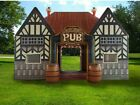 20x13ft Inflatable Pub House Bar Vip Tent Outdoor Party Event With Air Blower