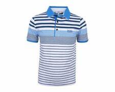 T-shirts, débardeurs et chemises bleus HUGO BOSS pour garçon de 2 à 16 ans