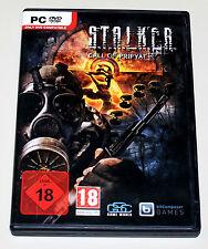 STALKER - CALL OF PRIPYAT - PC DVD MIT HANDBUCH - S.T.A.L.K.E.R. - DEUTSCH UNCUT