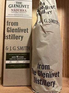 glenlivet nadurra 16 Years Liter ! First-Fill American Oak NonChillFiltered 48%