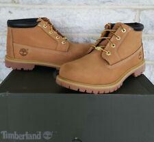 Timberland Womens Nellie Waterproof Chukka Boots Size 9.5 Wheat 23399 $135 NIB