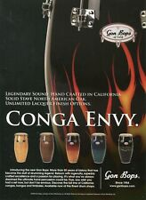 2005 Print Ad of DW Gon Bops North American Oak Congas