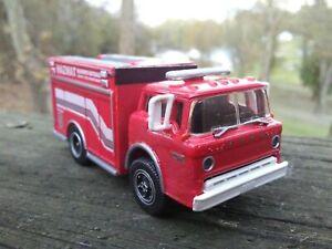 CUSTOM HO 1/87 SCALE FORD C TRACTOR TRUCK HAZ-MAT FIRE TRUCK LOOK!!!