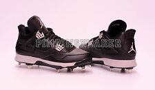 Men`s Jordan IV Retro Baseball Cleat Metal 807710 010