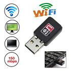 Mini 150M USB WiFi Wireless Laptop Network LAN Card Adapter 802.11 n/g/b w/ CD