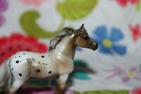 #97244 Breyer Stablemate Horse, Grey Appaloosa, Highland Pony