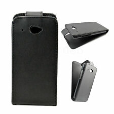 Synthetic Leather Phone Holster Flip Pouch Protect Case Cover For HTC Desire 601