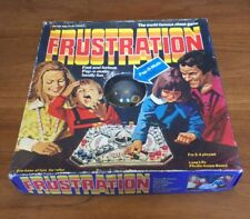 FRUSTRATION jeu vintage pop-o-matic action board game PETER PAN PLAYTHINGS 1979